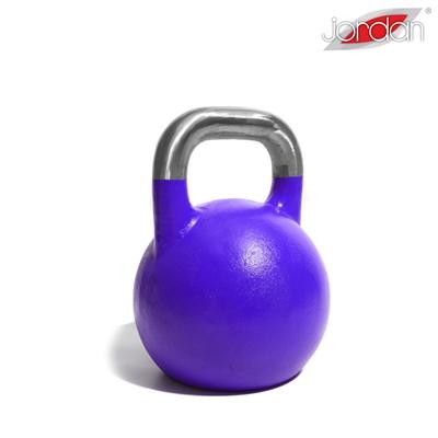Kettlebell JORDAN Fitness Competition 20 kg fialový