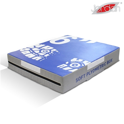 Plyometrická deska měkká Jordan Fitness 15,2 cm modrá