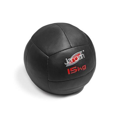 Oversized Medicinball Jordan Fitness 15 kg červený