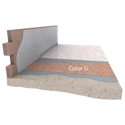 Akustická izolace pod PVC a linoleum DAMTEC Color G 3 mm