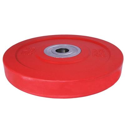 Bumper kotouč odhazovací kalibrovaný ARSENAL 25 kg červený