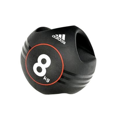 Medicinball dvojitý úchop 8 kg ADIDAS