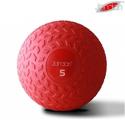Slam ball JORDAN 5 kg červený - new design