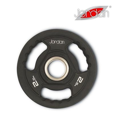 Olympijský kotouč JORDAN gumový 2,5 kg