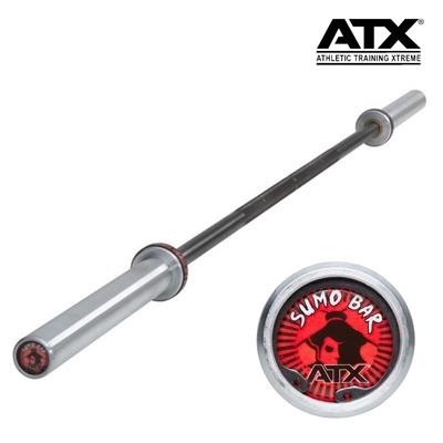 Olympijská osa na dřepy Sumo ATX LINE Deadlift Bar 2200/50 mm, úchop 28,5 mm