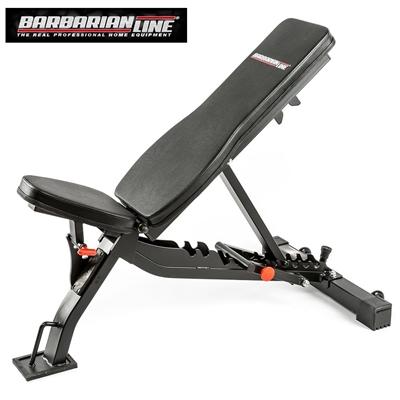 Posilovací lavice BARBARIAN BB-9052 - Černá
