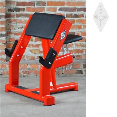 Posilovací stroj HBP T 303 biceps v sedě