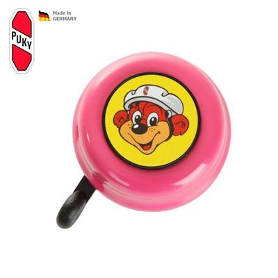 Zvoneček G16 pro tříkolky Puky růžový