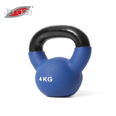 Kettlebell Jordan fitness neopren 4 kg