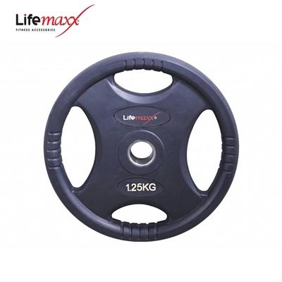 Lifemaxx kotouč pogumovaný RUBBER PREMIUM OL 1,25 kg