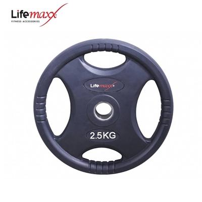 Lifemaxx kotouč pogumovaný RUBBER PREMIUM OL 2,5 kg