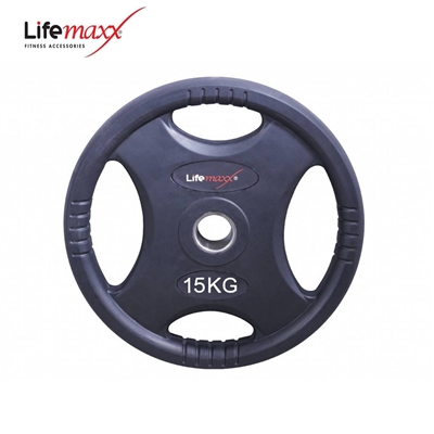 Lifemaxx kotouč pogumovaný RUBBER PREMIUM OL 15 kg