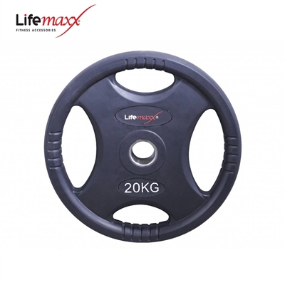 Lifemaxx kotouč pogumovaný RUBBER PREMIUM OL 20 kg