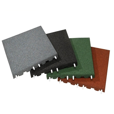 Podlaha EUROFLEX Impact Protection Slab 40 mm (500x500mm)