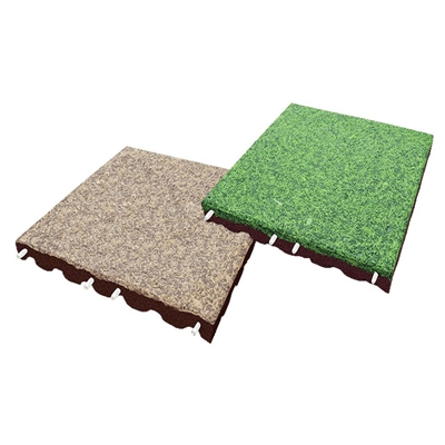 Podlaha EUROFLEX Soft System 90 mm EPDM Mulch