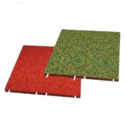 Podlaha EUROFLEX Multicolor Soft system 90 mm, 3 barvy