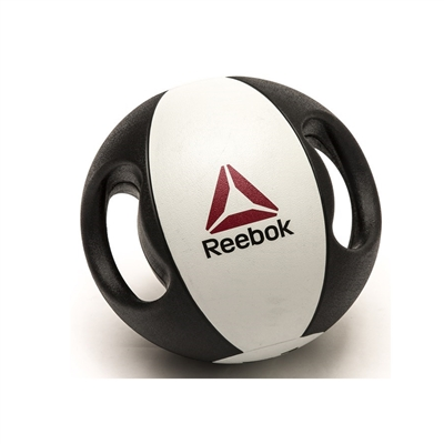 REEBOK, Double grip medicineball, 9 kg