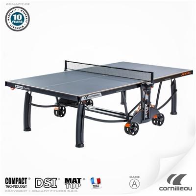 Stůl na stolní tenis CORNILLEAU Crossover 700M outdoor, šedý