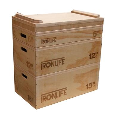 IRONLIFE Wooden Jerk Box