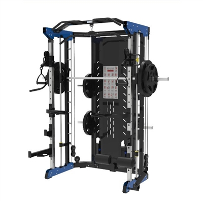 Multifunkční posilovací stroj TZ Multi-Functional Smith Machine (cihličkové závaží)