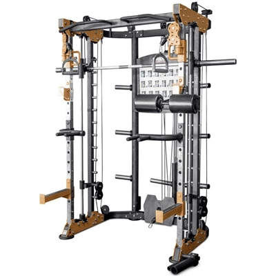 Posilovací stroj multipress BRUTE FORCE Functional Trainer Smith Machine