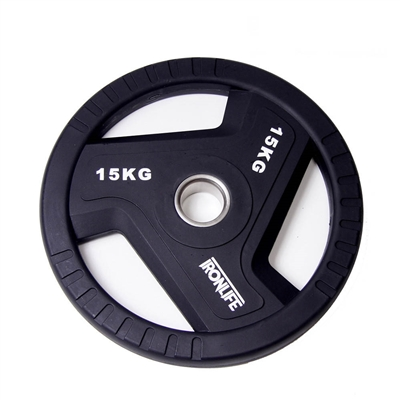 Olympijský urethanový kotouč IRONLIFE 15 kg