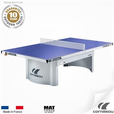 Stůl na stolní tenis CORNILLEAU 510 M outdoor modrý
