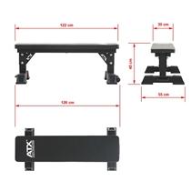Posilovací lavice ATX Flat Bench 5