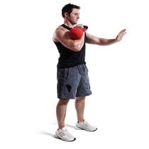 Kettlebell Jordan fitness neopren 4 kg 1