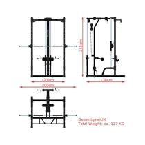 Multipress MegaTec s horní/spodní kladkou 11