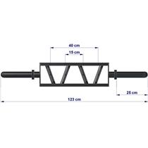 ATX LINE Short multi grip bar