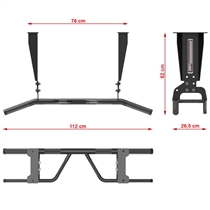 BARBARIAN LINE, hrazda Multi Grip - Wand / Decke 6