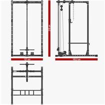 Power Rack ATX LINE PRX-620 s kladkou 6