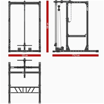 Power Rack ATX LINE PRX-710 s kladkou 8