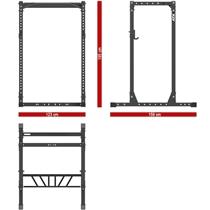 Power Rack 710 ATX LINE - výška 195 cm 9