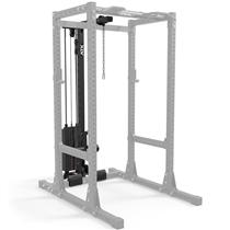 Vysoce kvalitní horní/spodní kladka Lat LTO-750 s kovovými cihličkami o celkové hmotnosti 125 kg