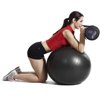 gymball jordan fitness - cviky s powerbag