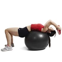 gymball jordan fitness - cviky s koroucem