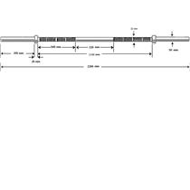 osa-olympijska-rovna-arsenal-db-0003-2200-50mm-chrom-nosnost-300-kg--detail