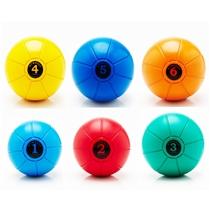 Medicineball Jordan Fitness gumový -vsechny velikosti