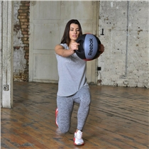 Medicine ball REEBOK professional duble grip cviky