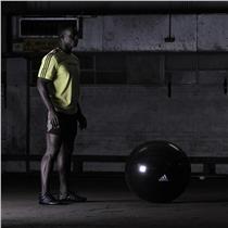 Gymnasticky balon ADIDAS Professional cerny cviky 3
