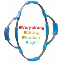 SVELTUS Flexoring - obtiznost cviku 2