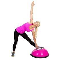 BOSU pink balance trainer koordinacni cviky