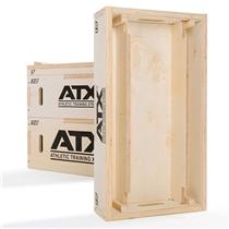 ATX dřevěná odkládací bedna na osy 2