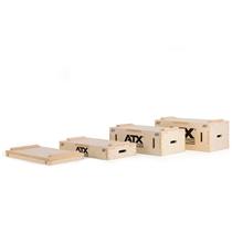 ATX dřevěná odkládací bedna na osy 3